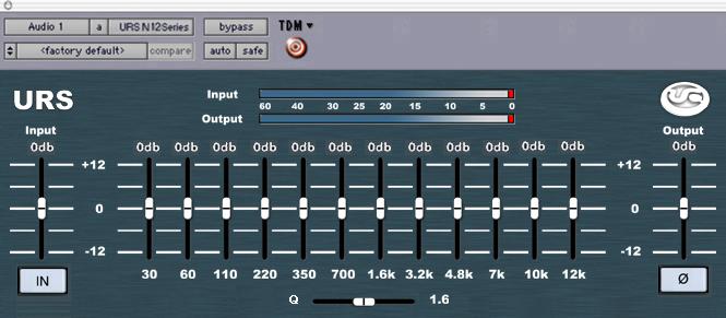 EQs – the basic controls
